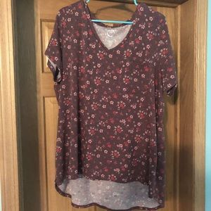 Floral tee from Maurice's